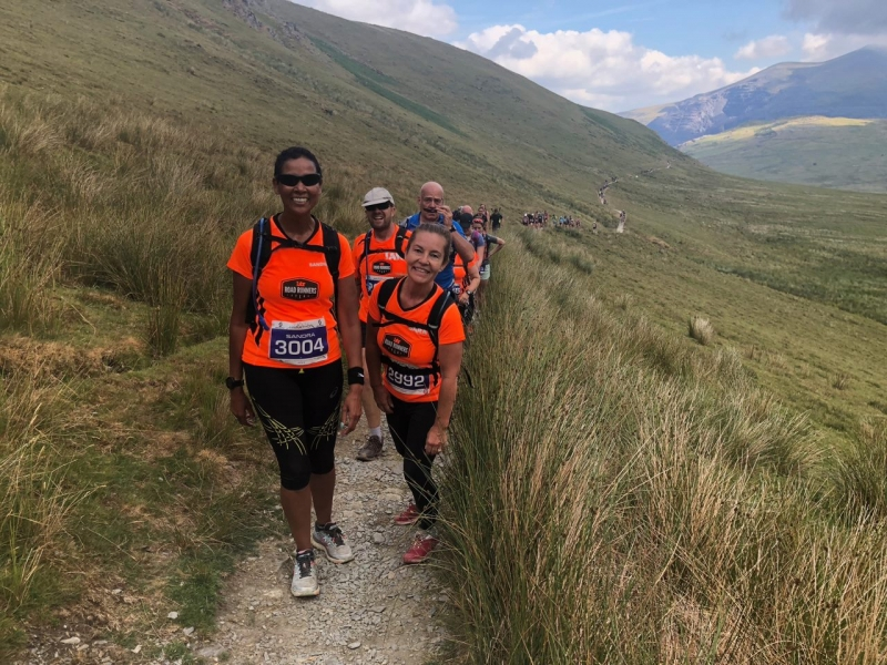BTR on the Snowdon Trail Marathon