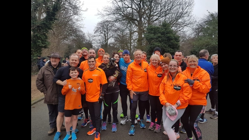 BTR Road Runners at Birkenhead Parkrun