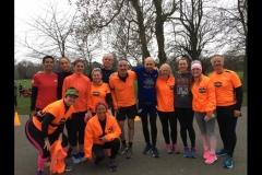 BTR Road Runners at Birkenhead Parkrun