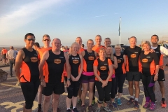 BTR Road Runners on a sunny Seaside 5k