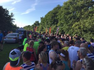 Ready for the start, The Ralla